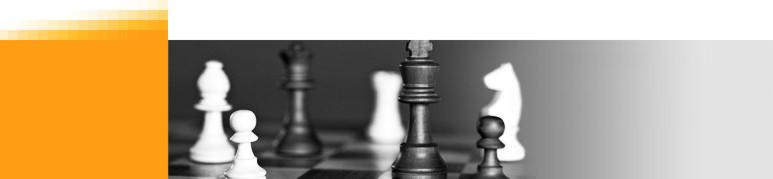 Schach ist Strategie
